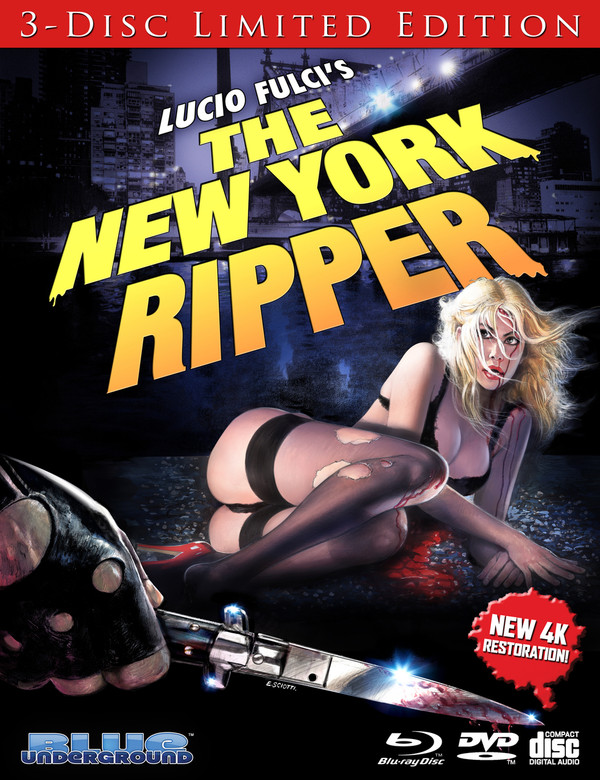 The New York Ripper (3-Disc Limited Edition) BLU-RAY/DVD