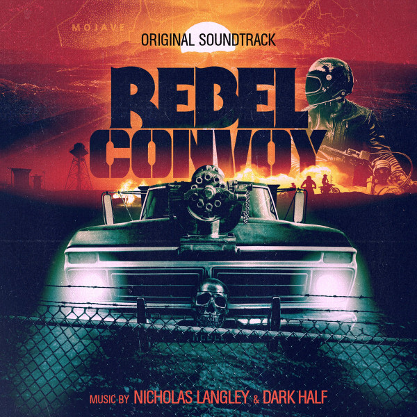 NICHOLAS LANGLEY & DARK HALF: Rebel Convoy (Night Sight Neon Green) Cassette