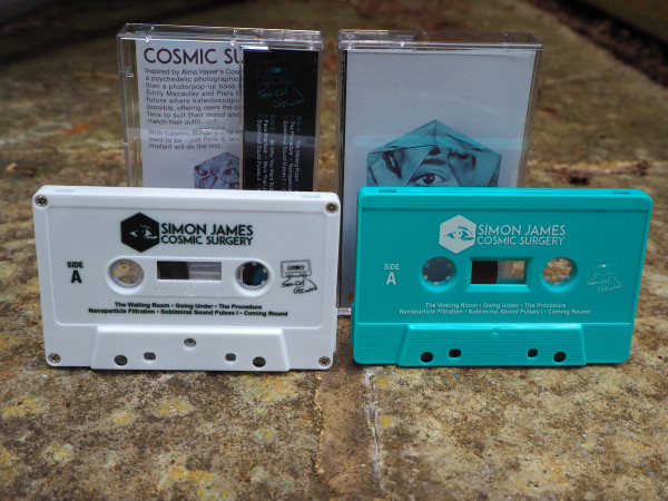 SIMON JAMES: Cosmic Surgery (Scrubs Green) Cassette