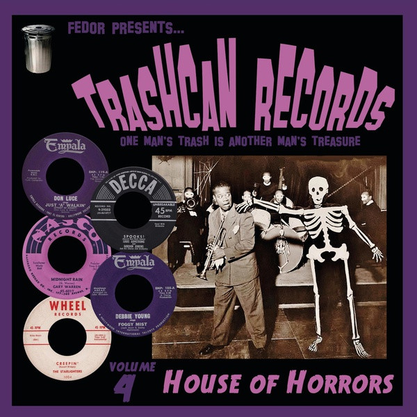 """V/A: Trashcan Records, Volume 4: House OF Horrors 10"""""""