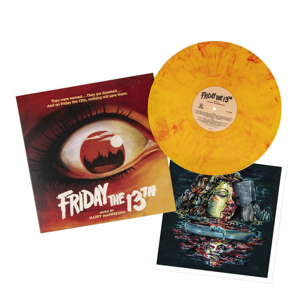 HARRY MANFREDINI: Friday the 13th (Original Motion Picture Soundtrack) LP