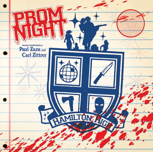 PAUL ZASA & CARL ZITTRER: Prom Night (Original Soundtrack) (Disco Acid Flashback Variant) LP