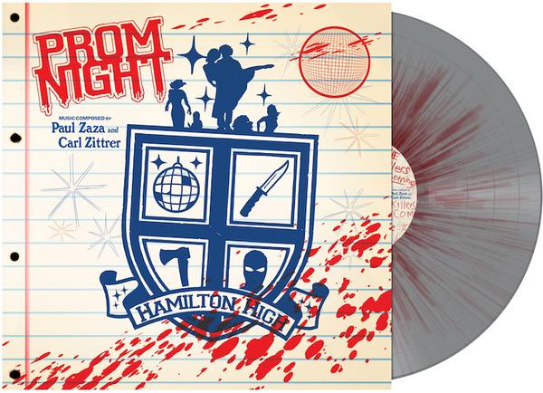 PAUL ZASA & CARL ZITTRER: Prom Night (Original Soundtrack) (Bloody Disco Ball Variant) LP