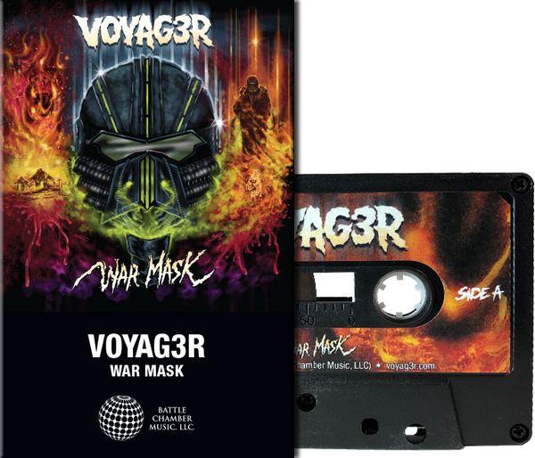 VOYAG3R: War Mask (Black Shell) Cassette