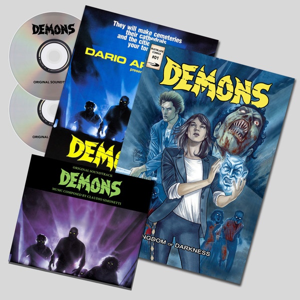 CLAUDIO SIMONETTI: Demons Special Edition Double CD + Comic Book + Poster (Limited Edition)