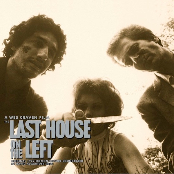 DAVID HESS: The Last House On The Left (Original 1972 Motion Picture Soundtrack) CD