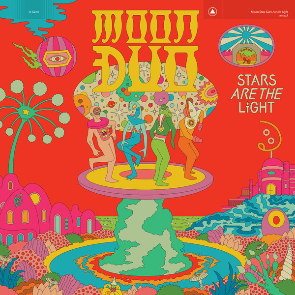 MOON DUO: Stars Are the Light (Opaque Red Vinyl) LP