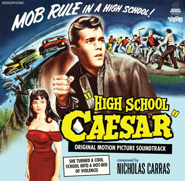 NICHOLAS CARRAS: High School Caear (Original Motion Picture Soundtrack) LP