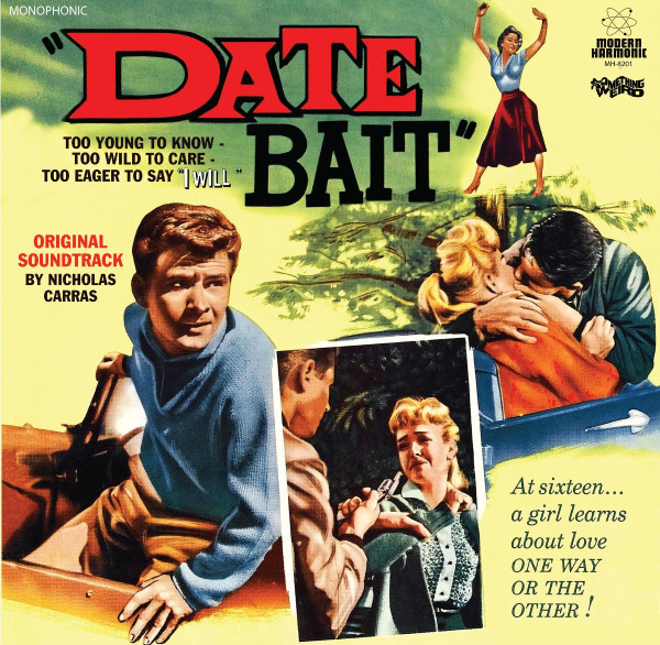 NICHOLAS CARRAS: Date Bait (Original Motion Picture Soundtrack) LP