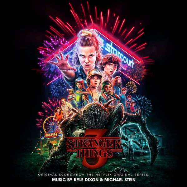 KYLE DIXON & MICHAEL STEIN: Stranger Things 3 (Original Score From The Netflix Series)  2LP