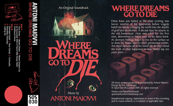 ANTONI MAIOVVI: Where Dreams Go To Die Cassette