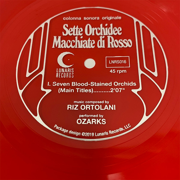 "OZARKS: Seven Blood-Stained Orchids 7"" Flexi-Disc"
