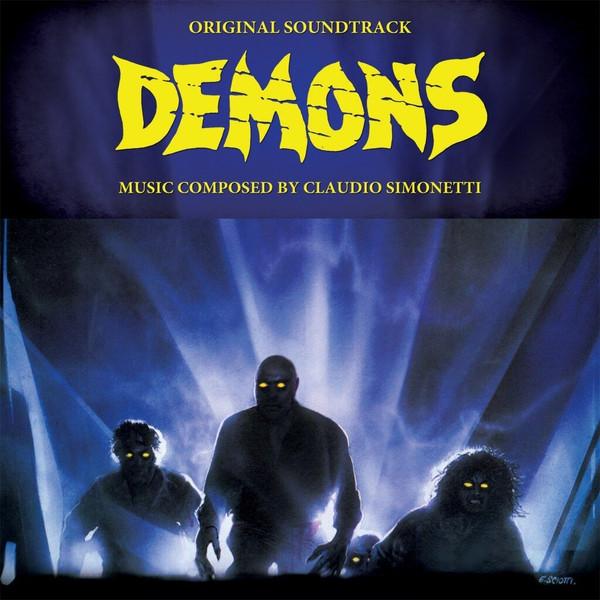 CLAUDIO SIMONETTI: Demons (Original Soundtrack) (Deluxe Gatefold Edition + Colored Vinyl) LP