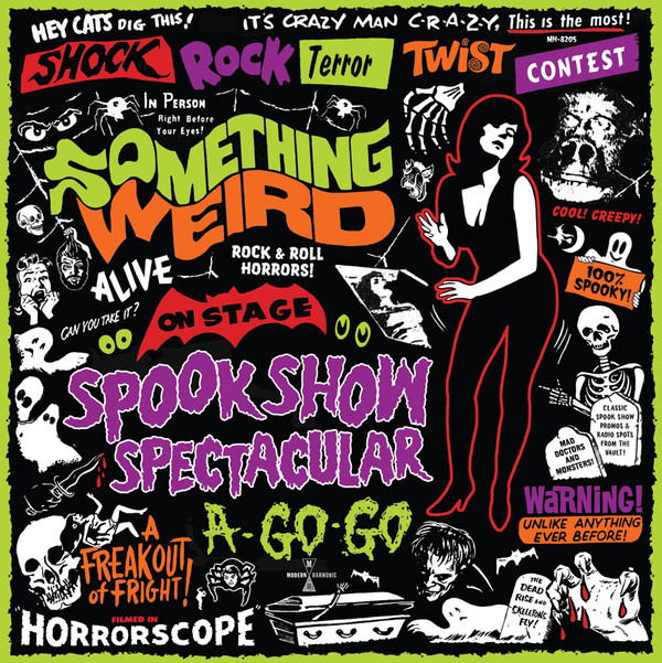 Something Weird - Spook Show Spectacular A-Go-Go (Red Vinyl) LP+DVD