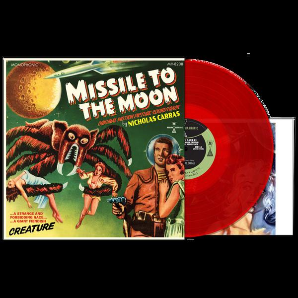 NICHOLAS CARRAS: Missile To The Moon (Original Motion Picture Soundtrack) (Red Vinyl) LP+Poster