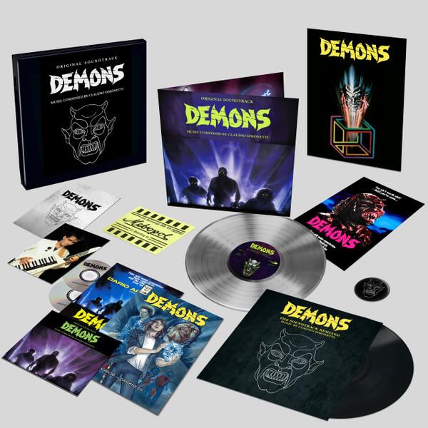 CLAUDIO SIMONETTI: Demons (Original Soundtrack) Limited Deluxe Box