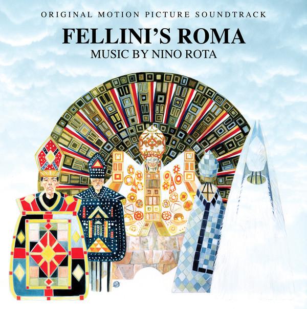 NINO ROTA: Fellini's Roma (Original Soundtrack) LP