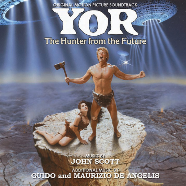 JOHN SCOTT: Yor, The Hunter From The Future (Original Motion Picture Soundtrack) CD
