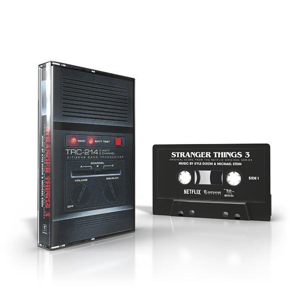 KYLE DIXON & MICHAEL STEIN: Stranger Things 3 (Original Score From The Netflix Series) Cassette