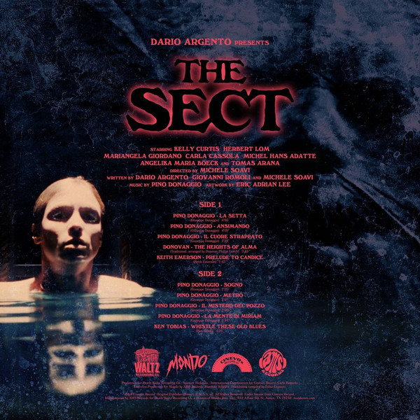 PINO DONAGGIO: LA SETTA (THE SECT) Original Motion Picture Soundtrack LP