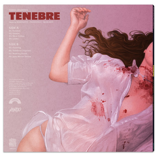 GOBLIN: Tenebre (Original Motion Picture Soundtrack) LP
