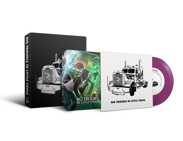 "JOHN CARPENTER: Big Trouble in Little China (7"" + Steelbook Blu-Ray Box Set)"