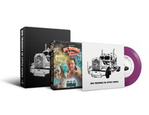 """JOHN CARPENTER: Big Trouble in Little China (7"""" + Collector's Edition Blu-Ray Box Set)"""