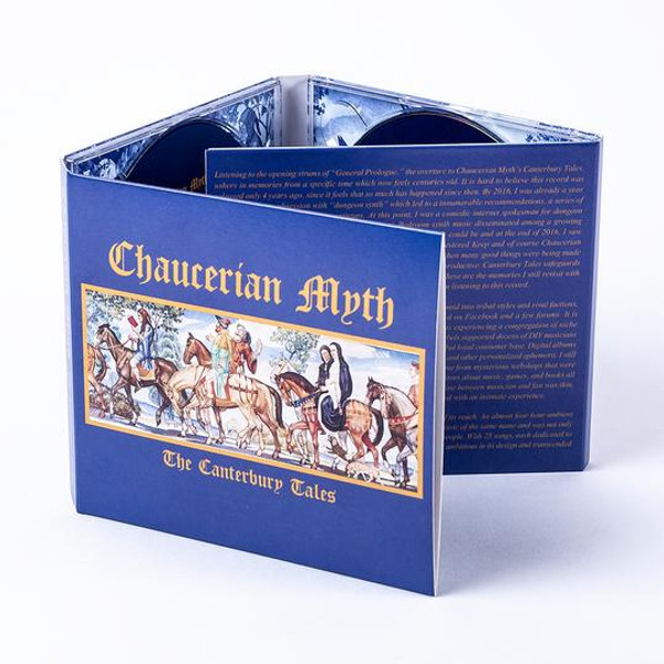 CHAUCERIAN MYTH: The Canterbury Tales 3CD