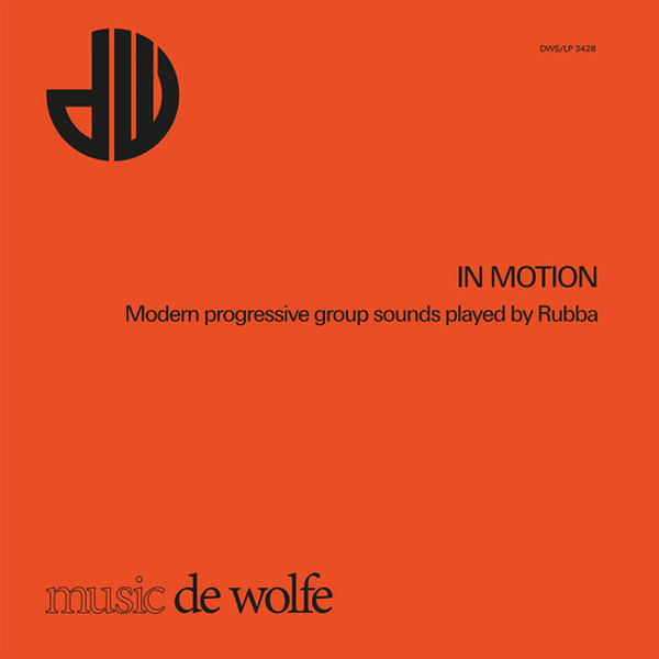 RUBBA: In Motion: Modern Progressive Group Sounds Played By Rubba LP
