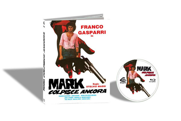 MARK COLPISCE ANCORA aka THE .44 SPECIALIST / MARK STRIKES AGAIN (Cover A) Blu-Ray