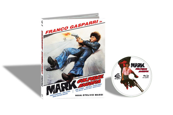 MARK COLPISCE ANCORA aka THE .44 SPECIALIST / MARK STRIKES AGAIN (Cover B) Blu-Ray