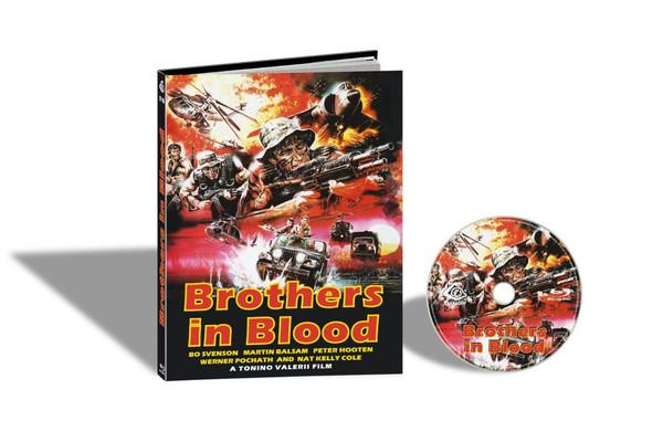 BROTHERS IN BLOOD aka SAVAGE ATTACK / LA SPORCA INSEGNA DEL CORRAGIO (Cover A) Blu-Ray