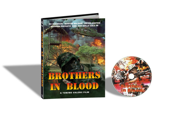 BROTHERS IN BLOOD aka SAVAGE ATTACK / LA SPORCA INSEGNA DEL CORRAGIO (Cover C) Blu-Ray