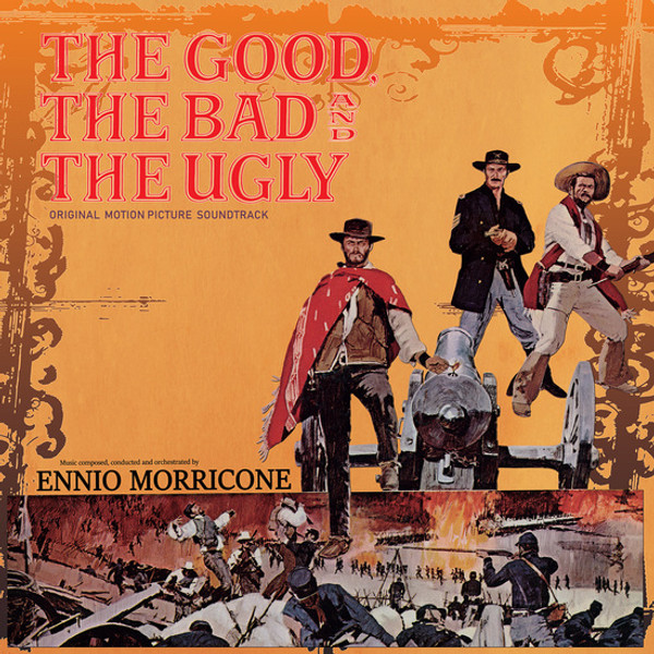 ENNIO MORRICONE: The Good, the Bad and the Ugly LP