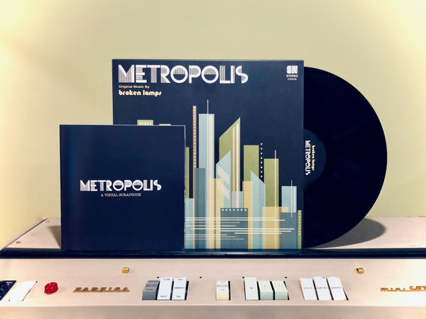 BROKEN LAMPS: Metropolis w/ Visual Scrapbook LP