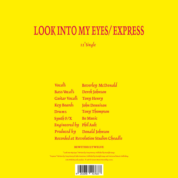 52ND STREET: Look Into My Eyes / Express 12""