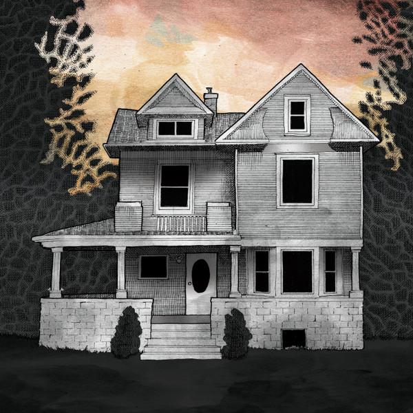 ALISON CHESLEY/STEVE ALBINI/TIM MIDYETT: Music from the film Girl on the Third Floor (Blood-Splattered) 2LP