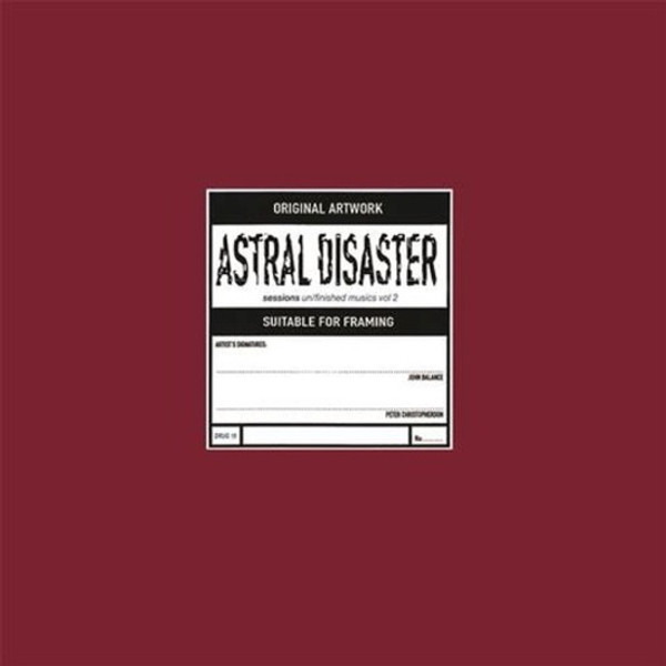 COIL: Astral Disaster Sessions Un/finished Musics Vol. 2 LP