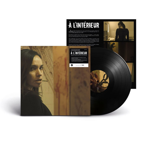 "FRANÇOIS-EUDES CHANFRAULT: Inside ""À l'intérieur"" (Original Motion Picture Soundtrack) LP"