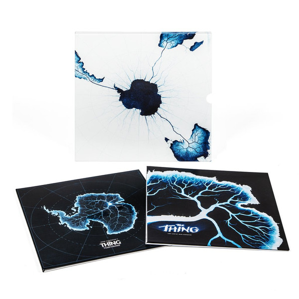 ENNIO MORRICONE / JOHN CARPENTER: The Thing (Deluxe Bundle W/ Slipcase) 2LP