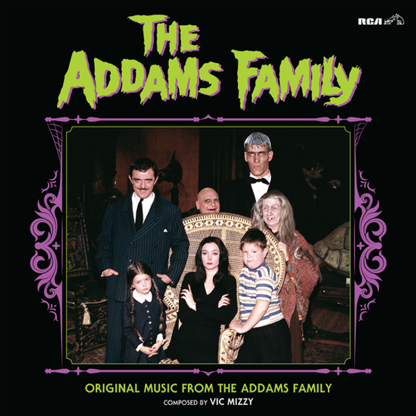 VIC MIZZY: The Addams Family: Original Music From The Addams Family LP