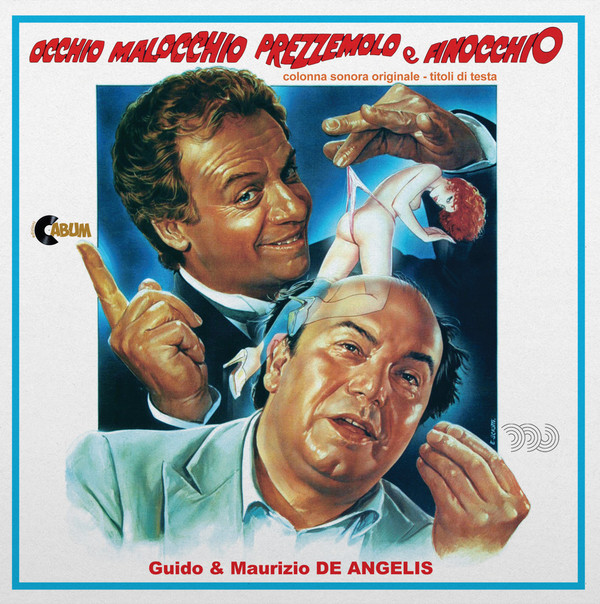 """GUIDO & MAURIZIO DE ANGELIS: Evil Eye Parsley And Fennel / A Sheriff Extraterrestre ...And Very Little Extra Terrestrial 7"""""""