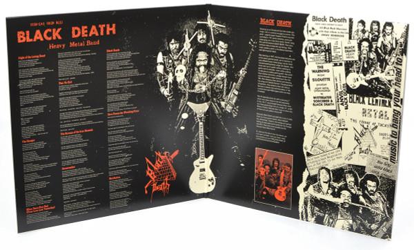 "BLACK DEATH: Black Death LP w/ 7"""