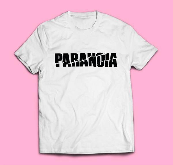 T-SHIRT Four Flies Limited PARANOIA Edition (Black/White)