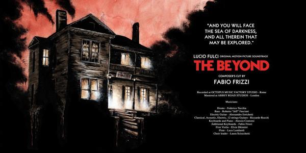 FABIO FRIZZI: Lucio Fulci - The Beyond Composer's Cut (White w/ Black Swirl) 2LP