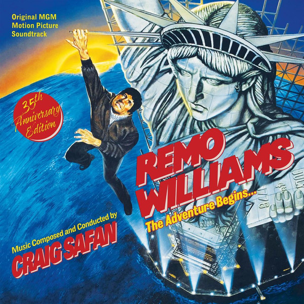 CRAIG SAFAN: Remo Williams The Adventure Begins (Original MGM Motion Picture Soundtrack) 2LP