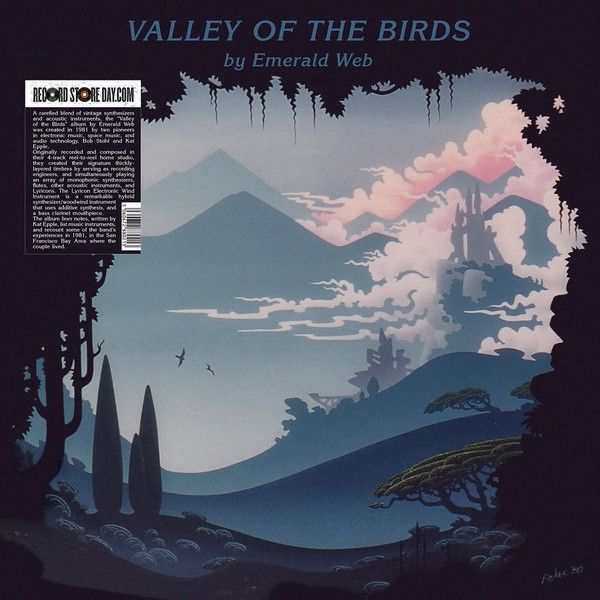 EMERALD WEB: Valley Of The Birds LP