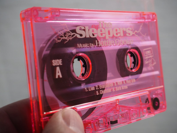 HATTIE COOKE: The Sleepers (Pink Dreams 2020 Version) Cassette