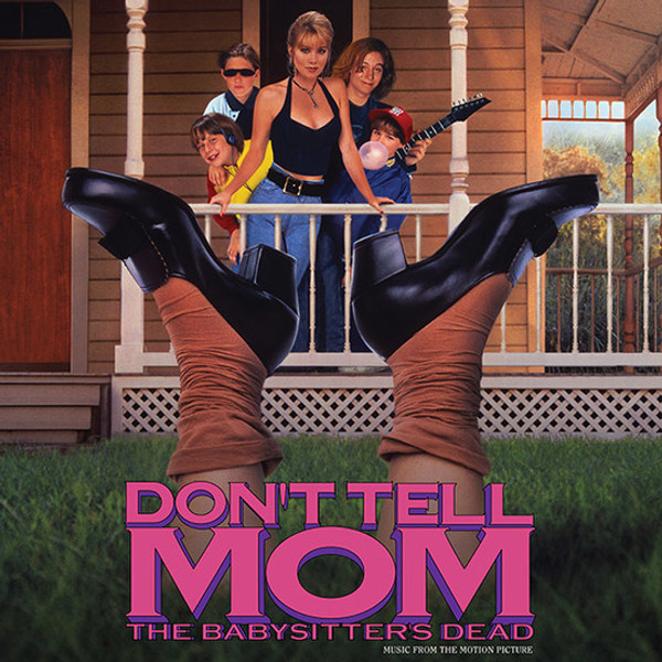 V/A: Don't Tell Mom The Babysitter's Dead - Music From The Motion Picture  (Red Vinyl) LP