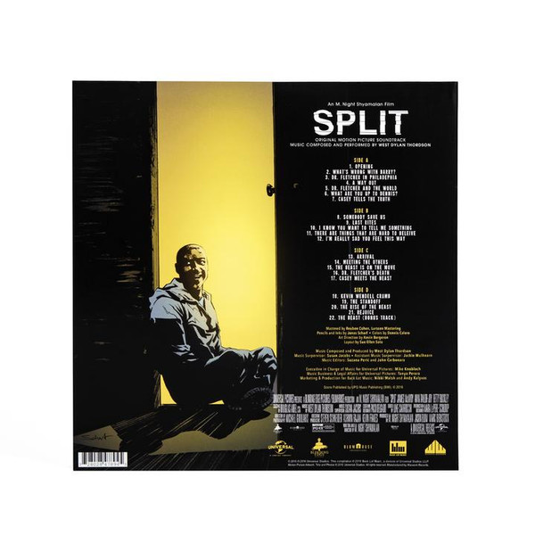 WEST DYLAN THORDSON: Split 2LP